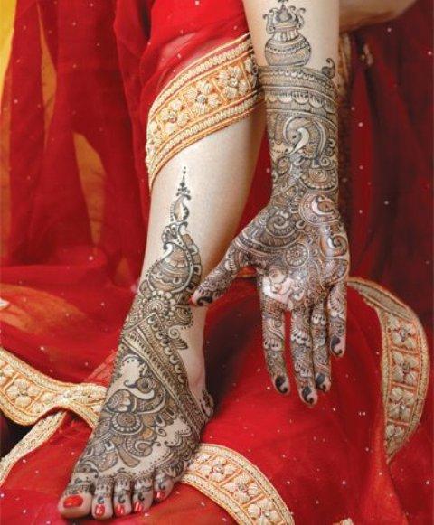 Mehndi Feet Quotes : Latest pakistani eid feet mehndi designs for girls