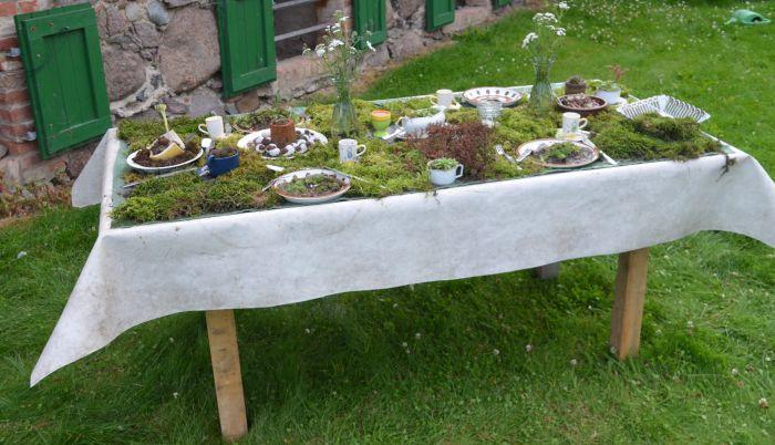 Tisch bepflanzen das beste aus wohndesign und m bel for Tafel selber bauen