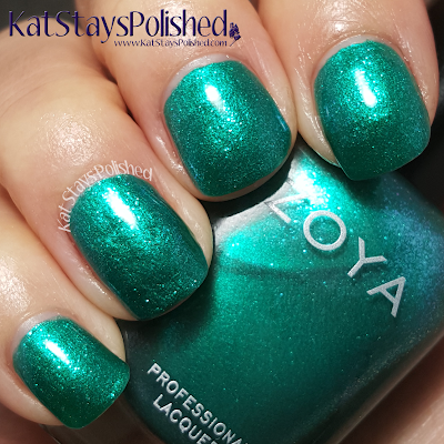Zoya Paradise Sun - Selene | Kat Stays Polished