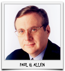 PAUL G. ALLEN - CLICK ON THE PHOTO TO VIEW THIS BULLETIN
