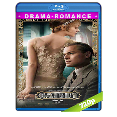 El Gran Gatsby (2013) BRRip 720p Audio Trial Latino-Castellano-Ingles 5.1