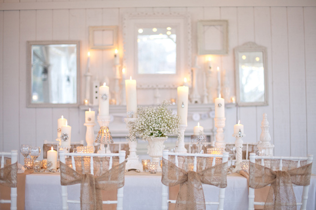 One of my favorite wedding trends is adding rustic charm and texture to