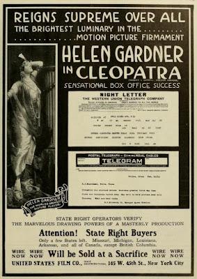 Helen Gardner in Cleopatra