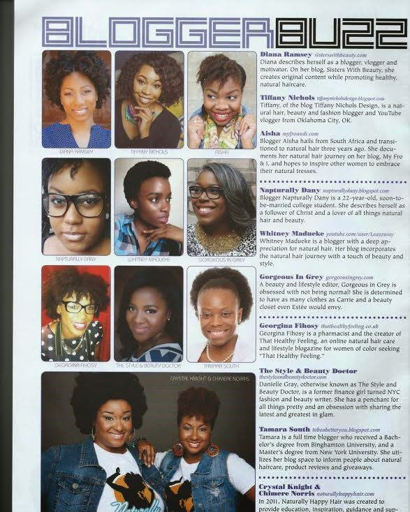 Featured in Hype Hair Magazine