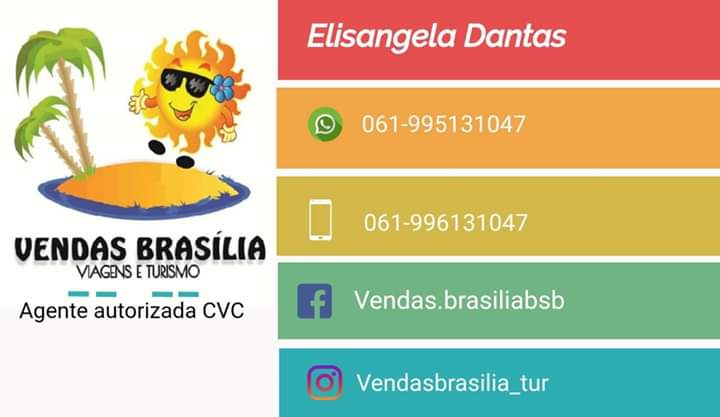 VENDAS BRASÍLIA CURTA VIA FACEBOOK