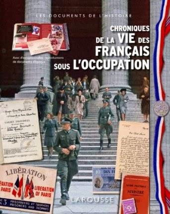 """Emmanuel Thiébot, """"Chroniques de la vie des français sous l'occupation""""."""