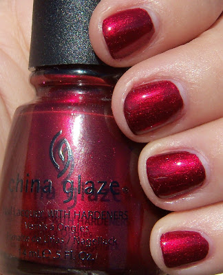China Glaze Thunderbird Swatch