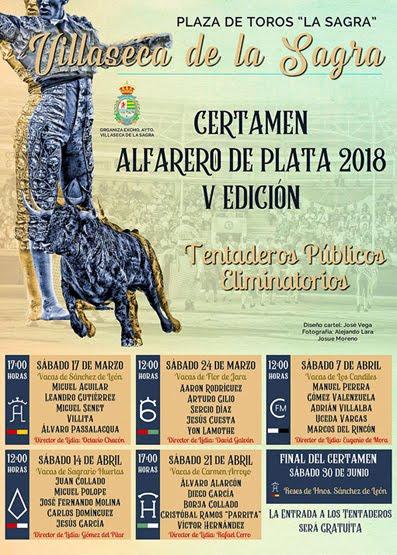 VILLASECA DE LA SAGRA (ESPAÑA) 17-03-2018. CERTAMEN ALFARERO DE PLATA 2018 V EDICIÓN.