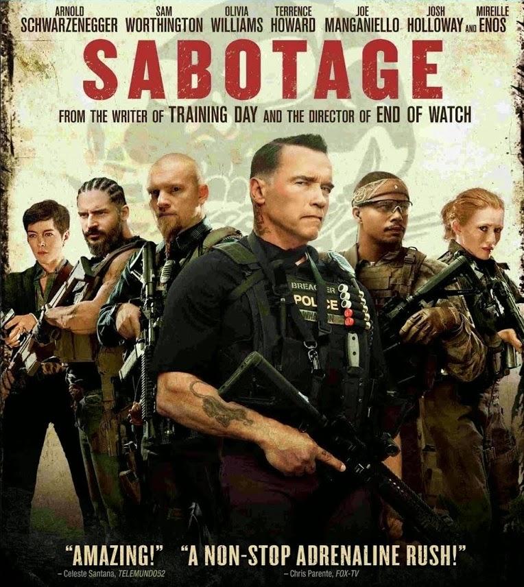 Sabotagem – Dublado (2014)