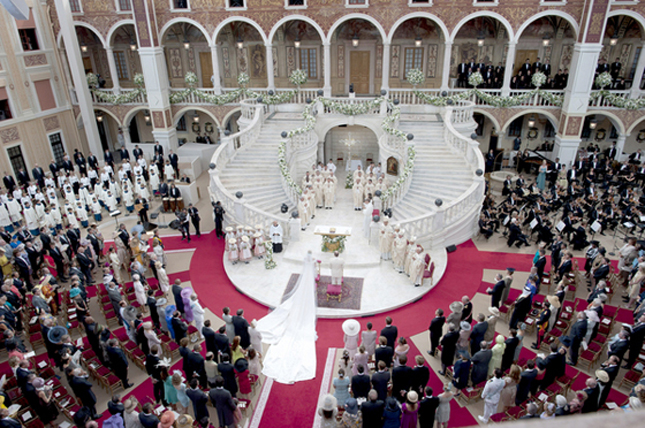 The Ceremony Layout The stairs in the background the semicircle sitting