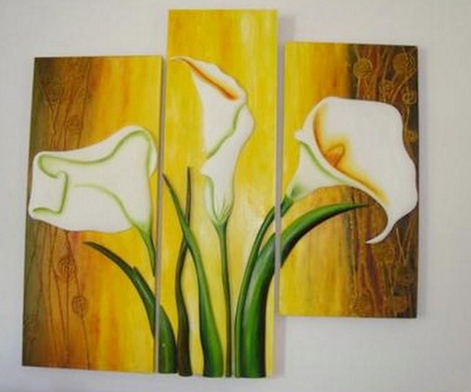 Cuadros flores exóticas tropicales | Bodegones y Paisajes Cuadros ...