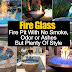 DIY Fire Glass
