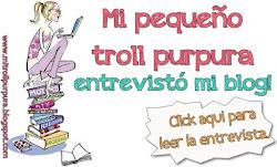 Entrevista de Mi pequeño Troll purpura