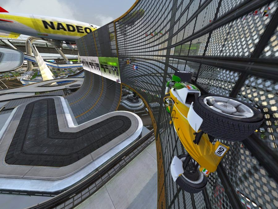 Download Game TrackMania Nations Forever PC Windows Gratis
