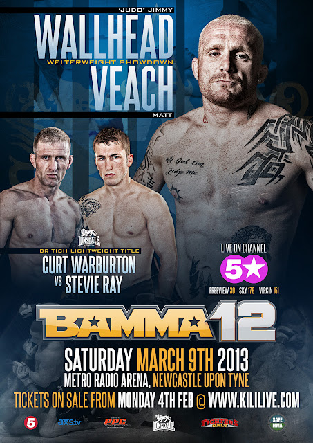 MMABLOGSPOT™: BAMMA 12 - UK broadcast information