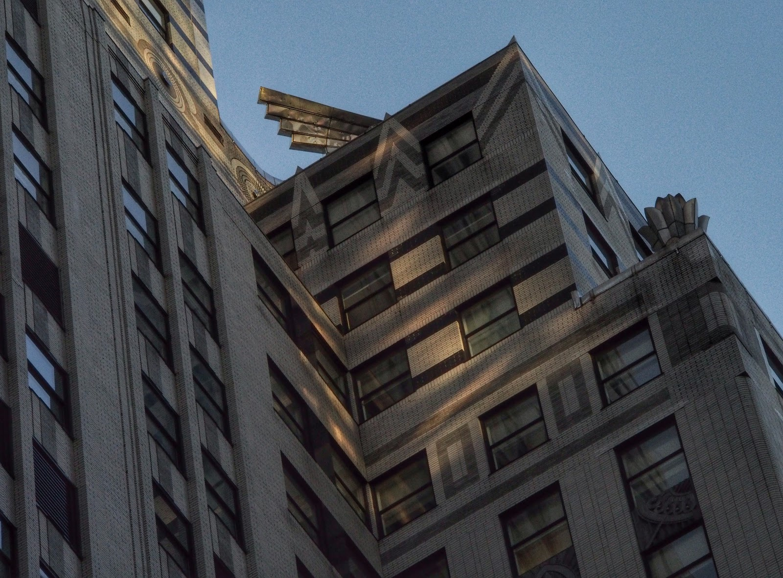 Shadows & Light, #ChryslerBuilding #architecture #artdeco #nyc 2014