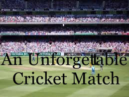 descriptive essay on cricket