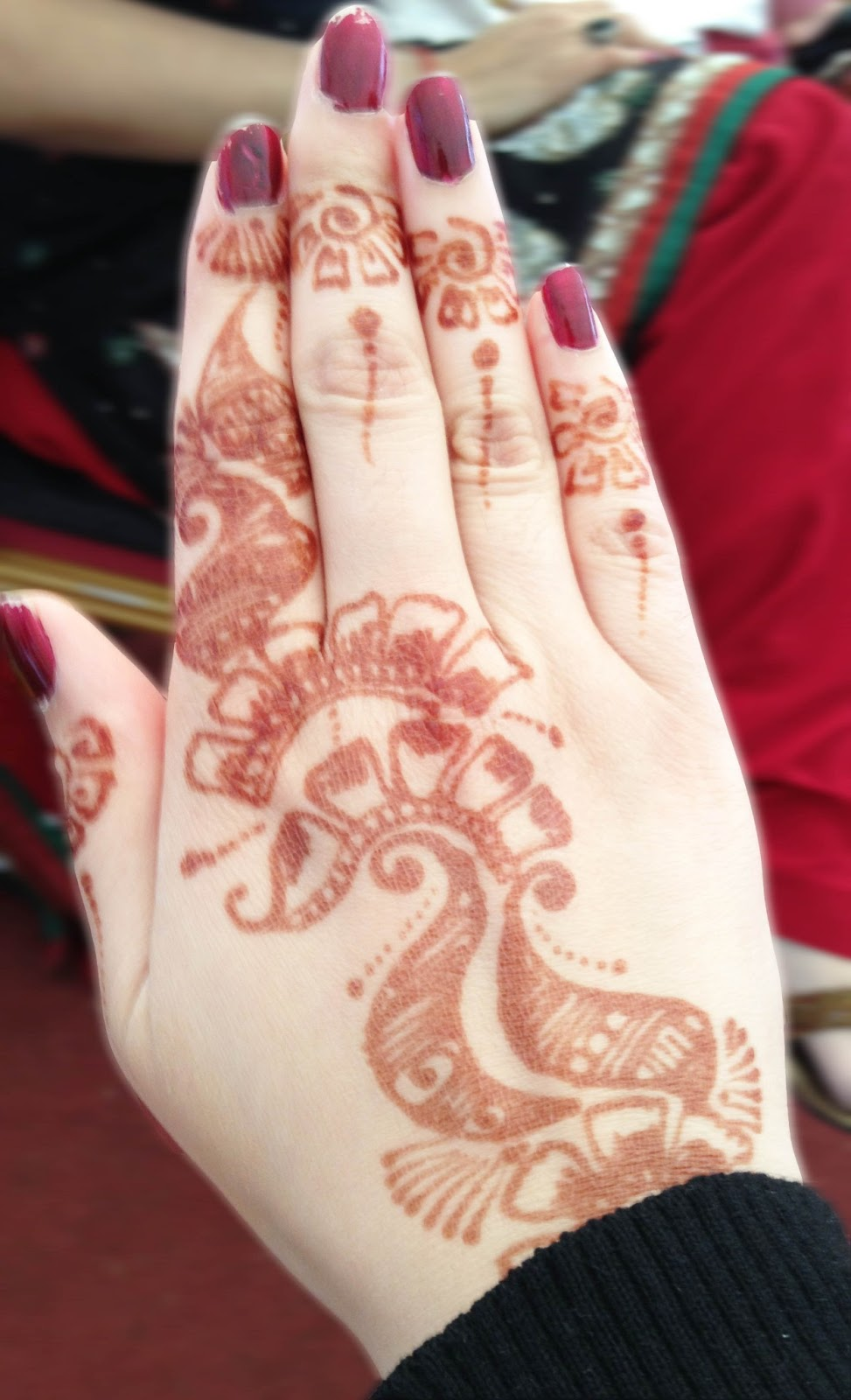 Mandy Bohgan H Is For Henna