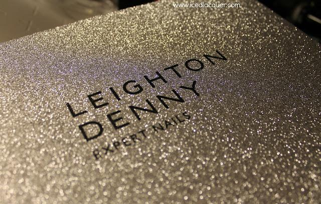 Leighton Denny glitter box lid