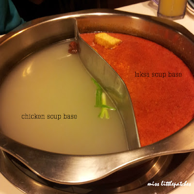 King's Laksa Steamboat - Chicken & Laksa soup base