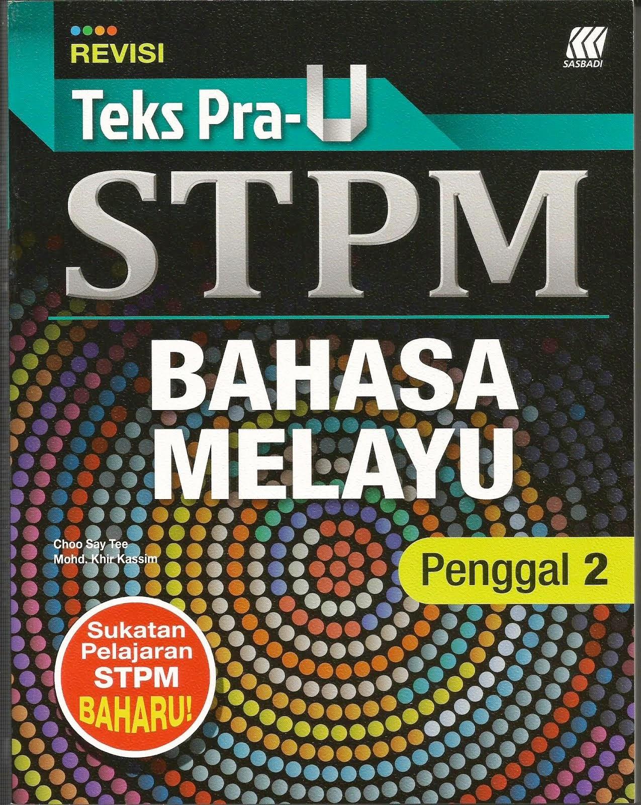 Buku BM T6 Penggal 2