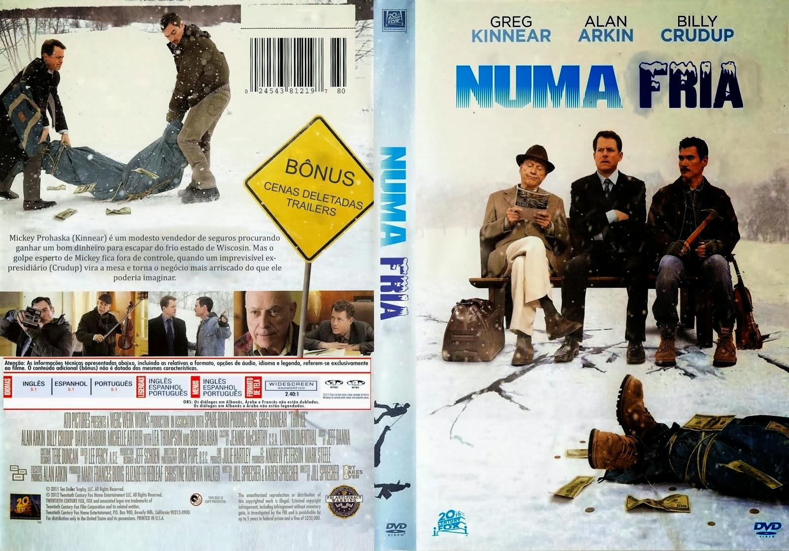 Filme Numa Fria DVD Capa