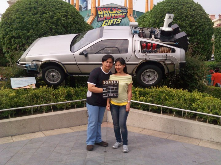 Osaka Universal Studios Japan Back to the Future The Ride