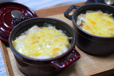 長芋と舞茸の和風グラタンその2