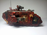 LAND RAIDER BLOOD ANGELS - WARHAMMER 40000 2