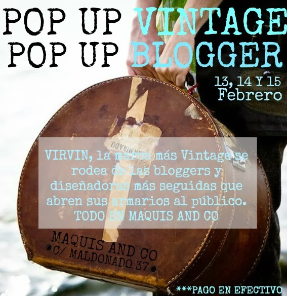 POP UP VINTAGE - POP UP BLOGGER - TALESTRIP