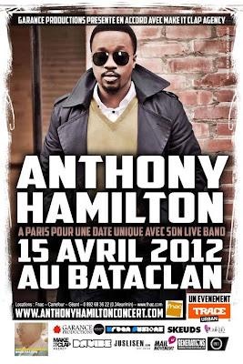 Agenda // Anthony Hamilton le 15 avril au Bataclan