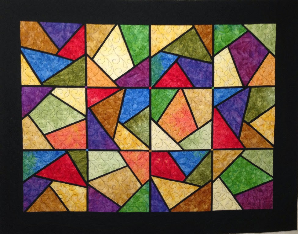Leanne Strum Stained Glass Quilt