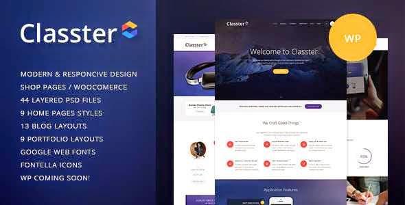Classter - Multi-Purpose WordPress Theme