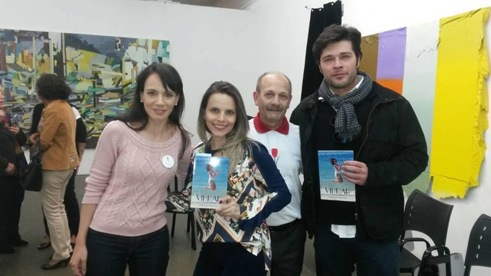 Danielle, Luciana, Manoel e Yan