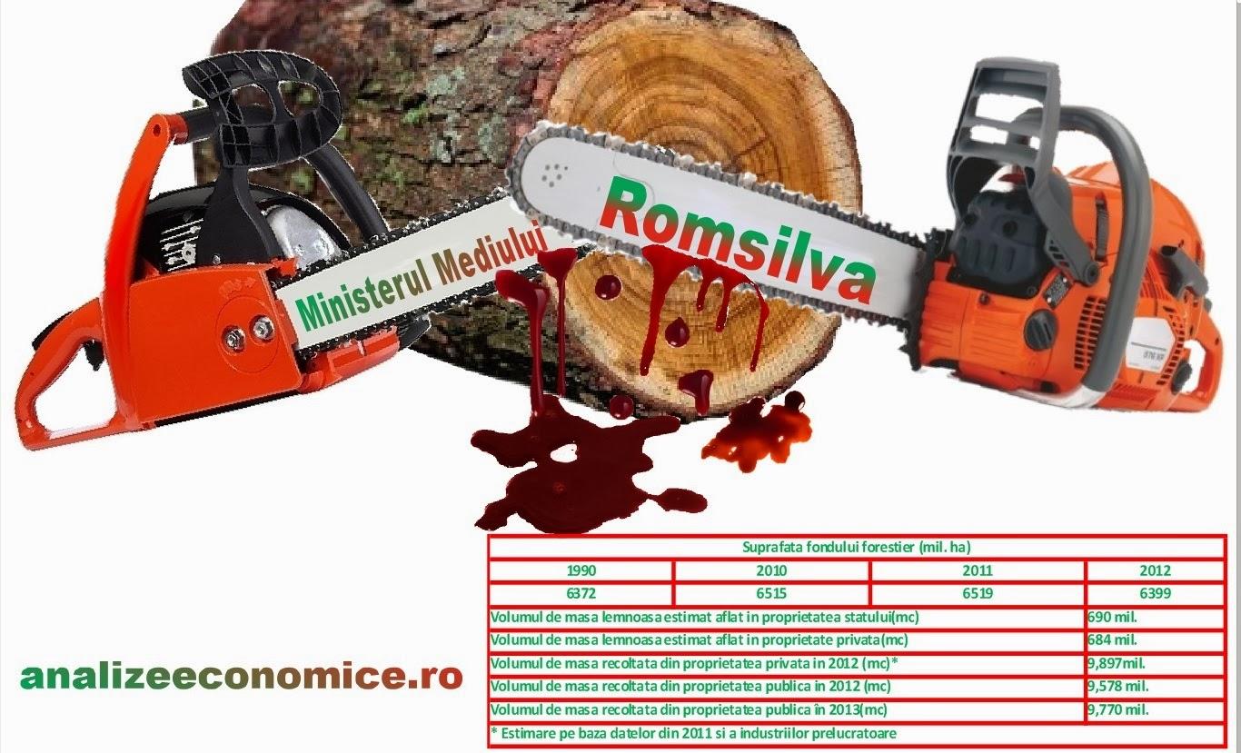 Dispariția pădurilor în România