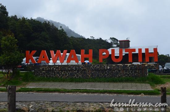 Kawah Putih, Bandung, Indonesia