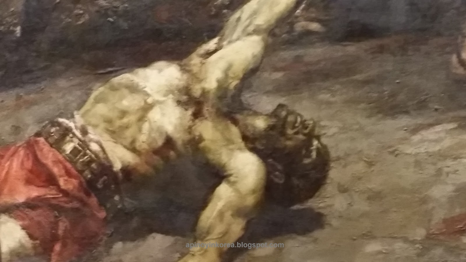 A Pinoy in Korea: Juan Luna's Spoliarium: A Painting of a ...