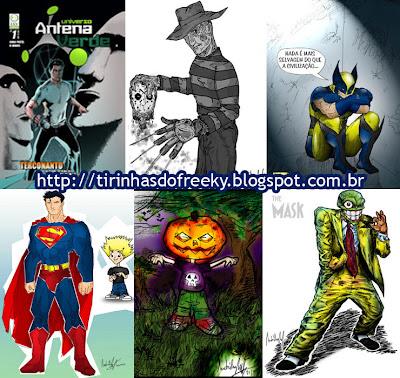 Desenhos André Luiz