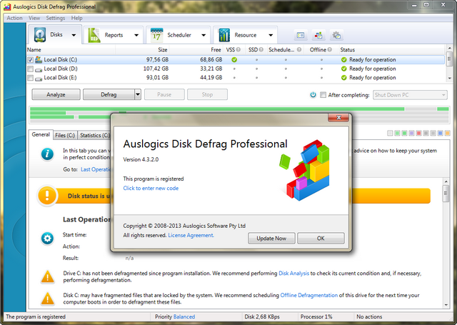 disk defrag free portable
