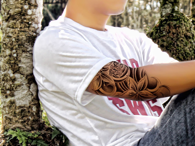 tato10 Membuat Tato warna hitam dengan photoshop
