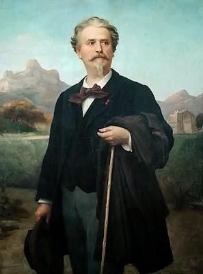 Retrat del poeta Frederic Mistral (Félix-Auguste Clément)