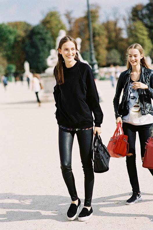 Paris Fashion Week SS 2015....Julia and Maartje