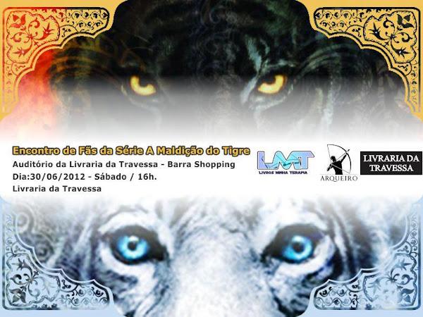 Encontro de fãs da série A Maldição do Tigre no Rio de Janeiro
