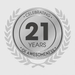 21 Years of Awesomeness!