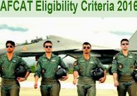 AFCAT Eligibility Criteria