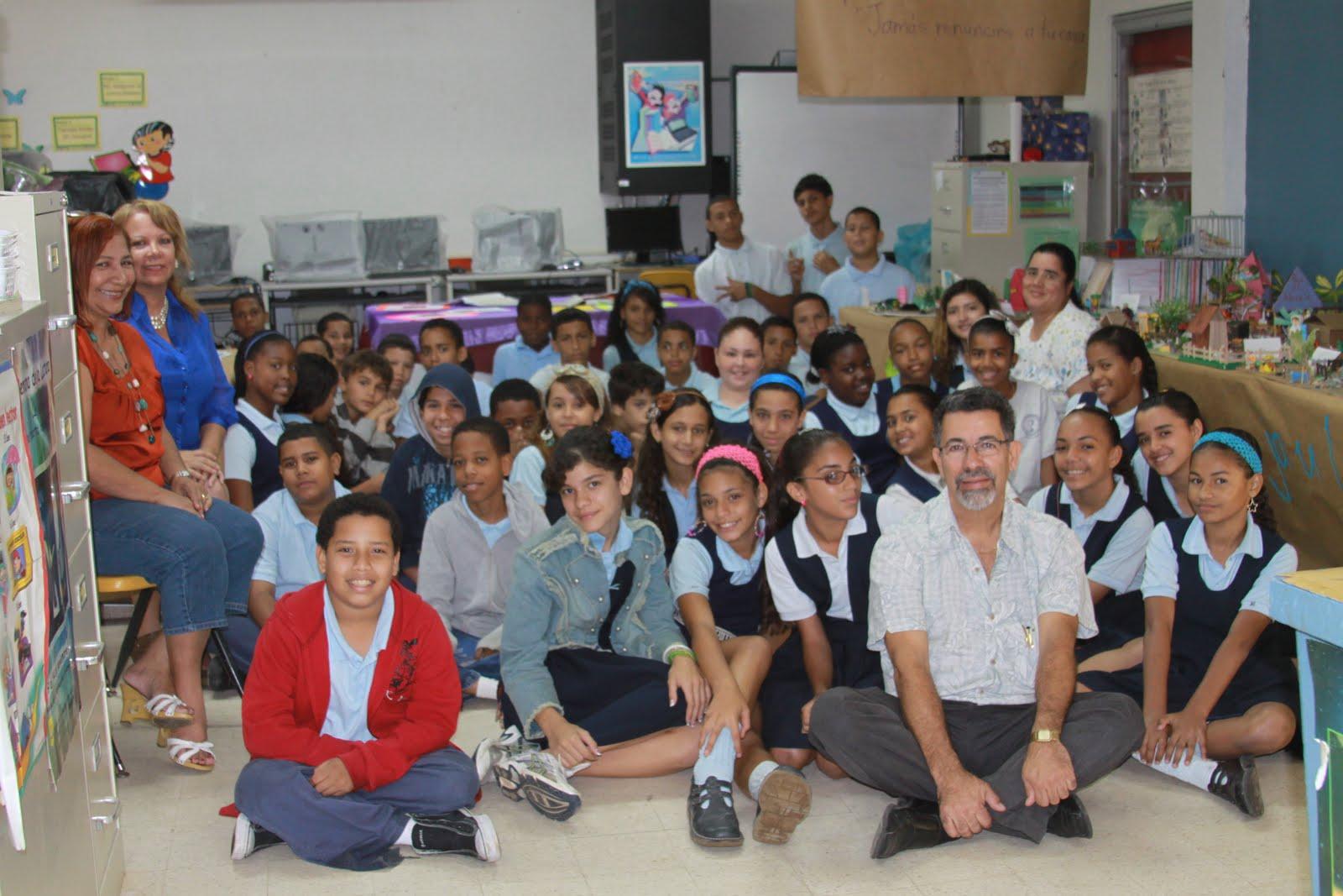 Proyecto la jaula segunda visita a la escuela rafael - Colegio otero de navascues ...