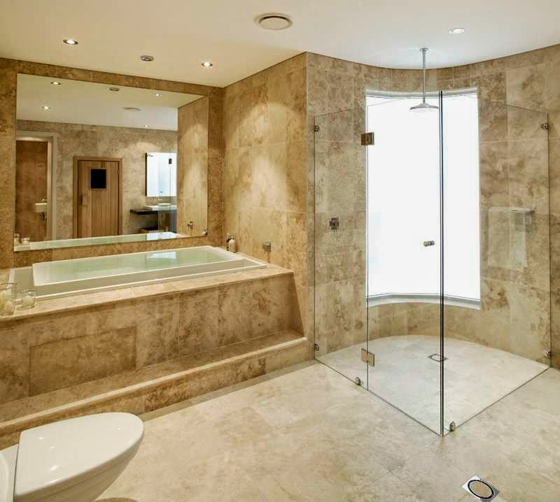 Travertine bathroom ideas bathroom designs for Bathroom travertine tile designs