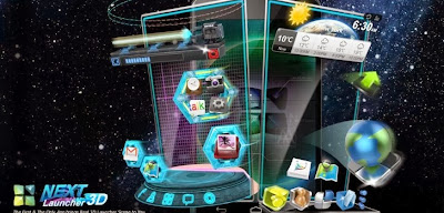 next launcher 3d for Android