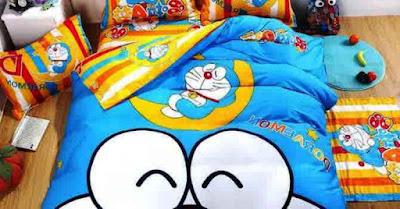 Inspirasi Desain Kamar Tidur Anak Lucu Doraemon