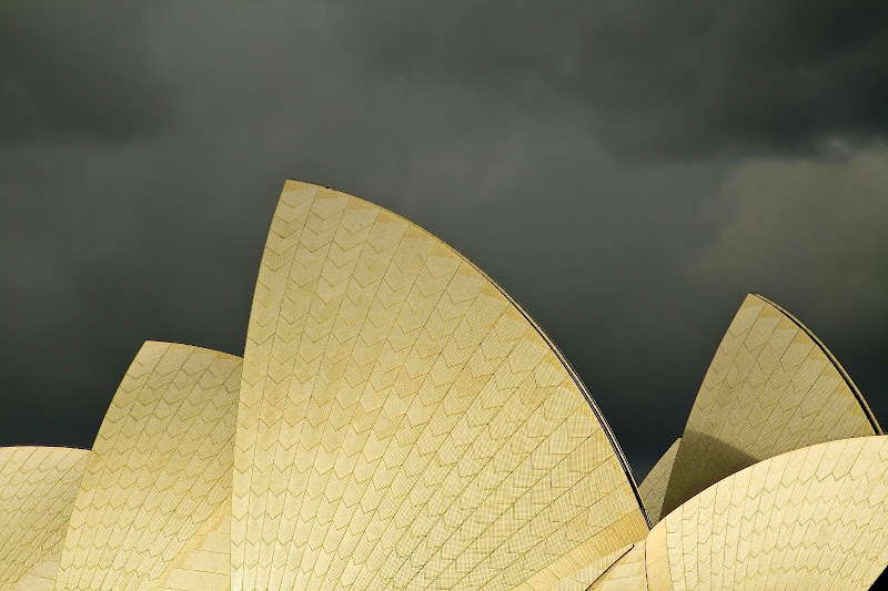 Sydney Opera House, Jorn Utzon Architect title=